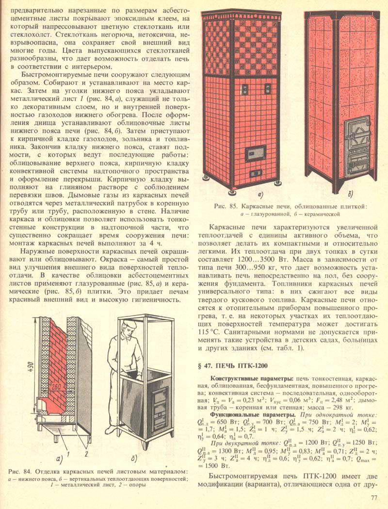 Как сложить печь книга
